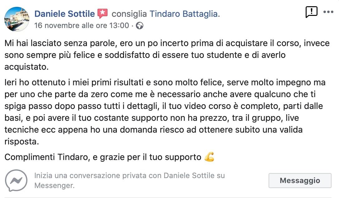 roibook m opinioni Daniele Sottile