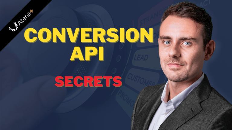 Atena Plus - Conversion API Secrets